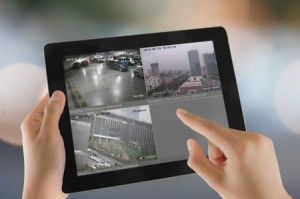 tablet sistema videovigilancia