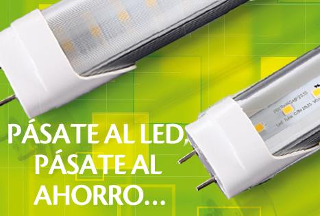 Iluminación LED ahorro