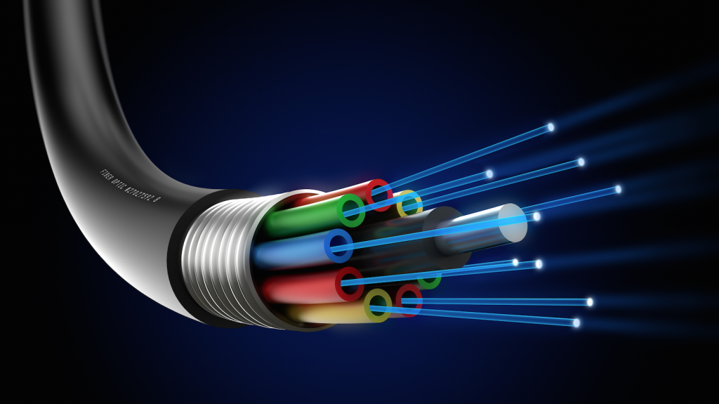Estructura cable Fibra óptica